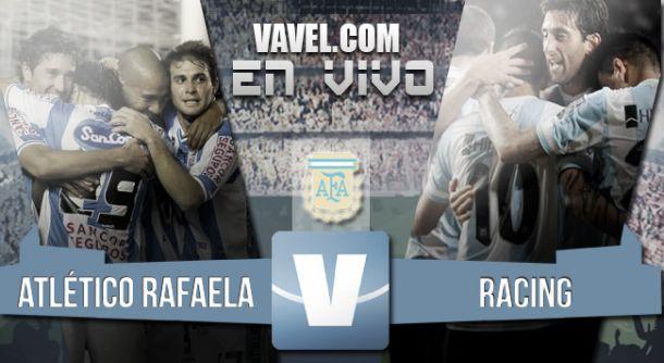 Resultado Atlético Rafaela - Racing (1-1)