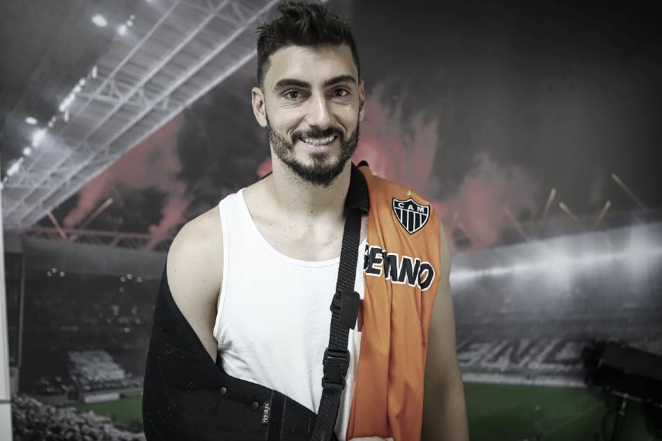 Exames definem que Rafael terá que passar por cirurgia no ombro