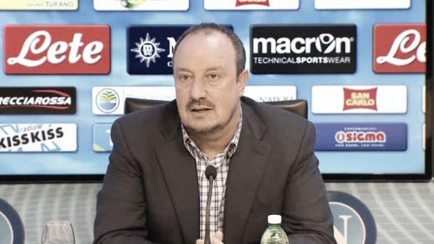"""Napoli, Benitez: """"Siamo i Campioni uscenti, è un dovere onorare la Coppa"""""""