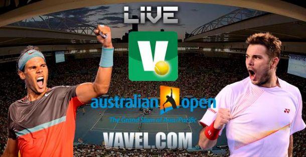 Resultado Final Open Australia 2014: Rafael Nadal - Stanislas Wawrinka (3-6, 2-6, 6-3 y 3-6)