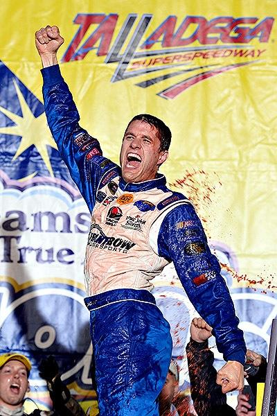 Ragan stunned by Talladega victory