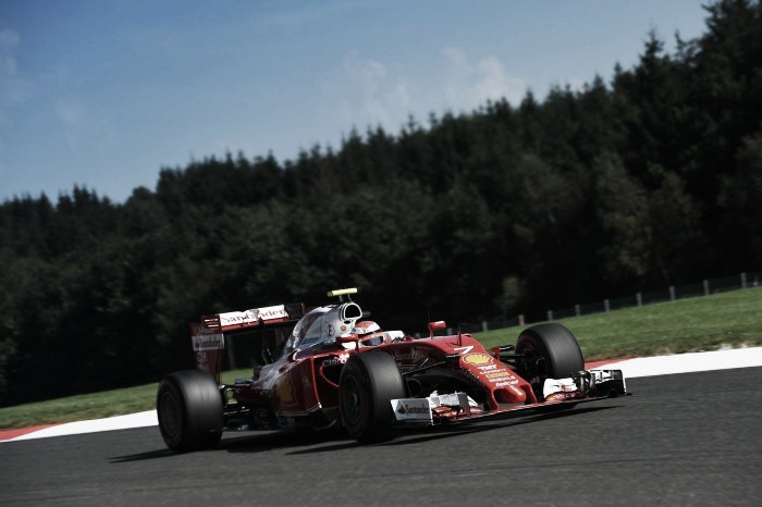 Belgian GP: Raikkonen tops Third Practice as Verstappen hits problems