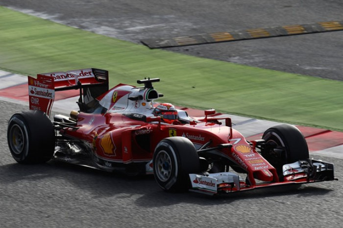 Test F1, Raikkonen va