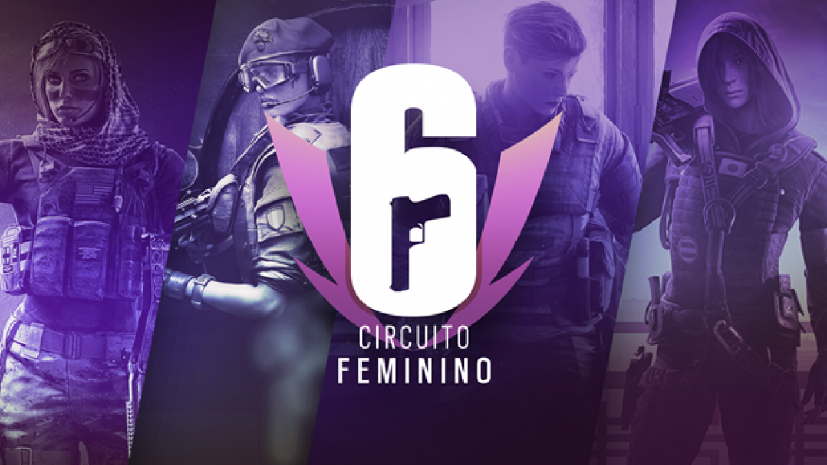 Circuito Feminino de Rainbow Six Siege estará na Game XP