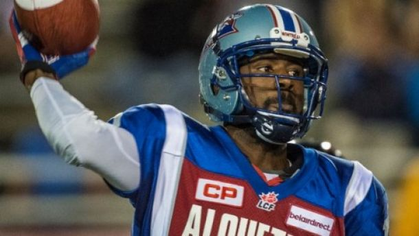 Rakeem Cato shined in his first career start - Montreal Alouettes/Rogerio Barbosa