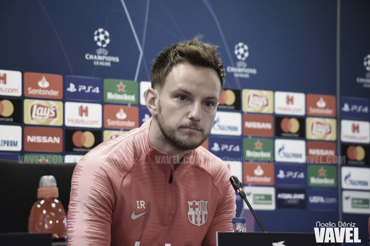 "Ivan Rakitic: ""Quedarme en Barcelona no solo depende de mi"""