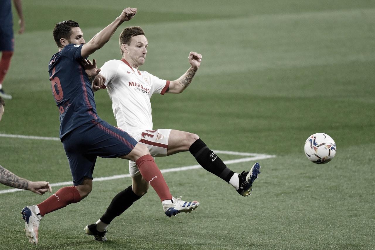 El Sevilla le arrebata los tres puntos al Atlético de Madrid