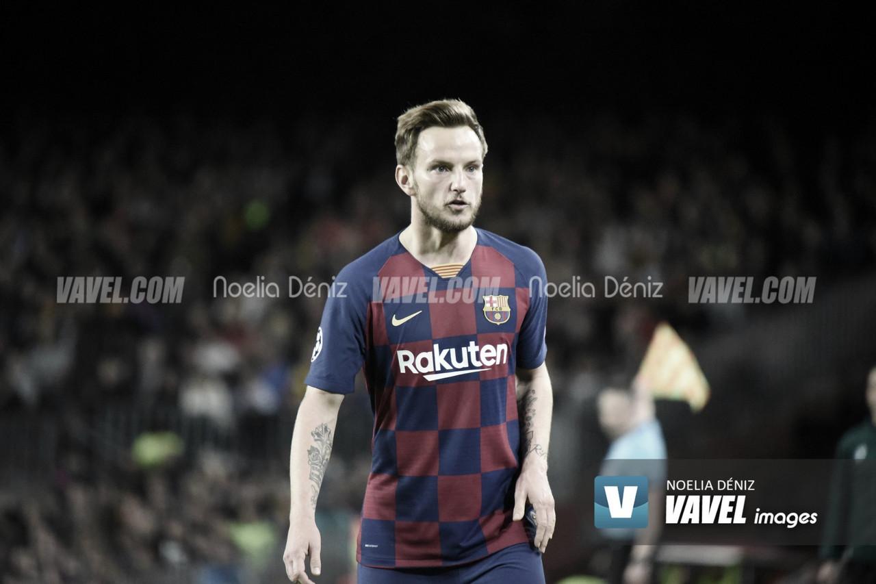 Rakitic se despide del Barcelona