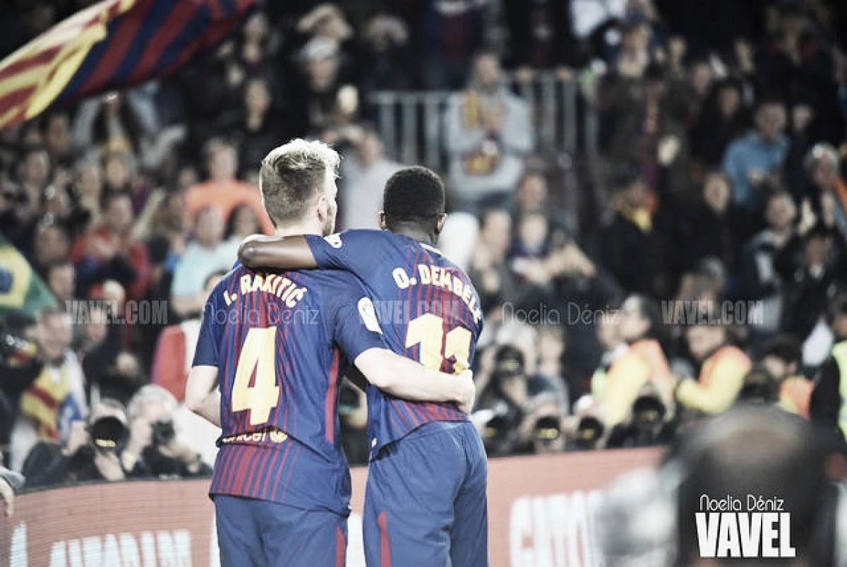 El FC Barcelona vence en el partido homenaje a Nelson Mandela