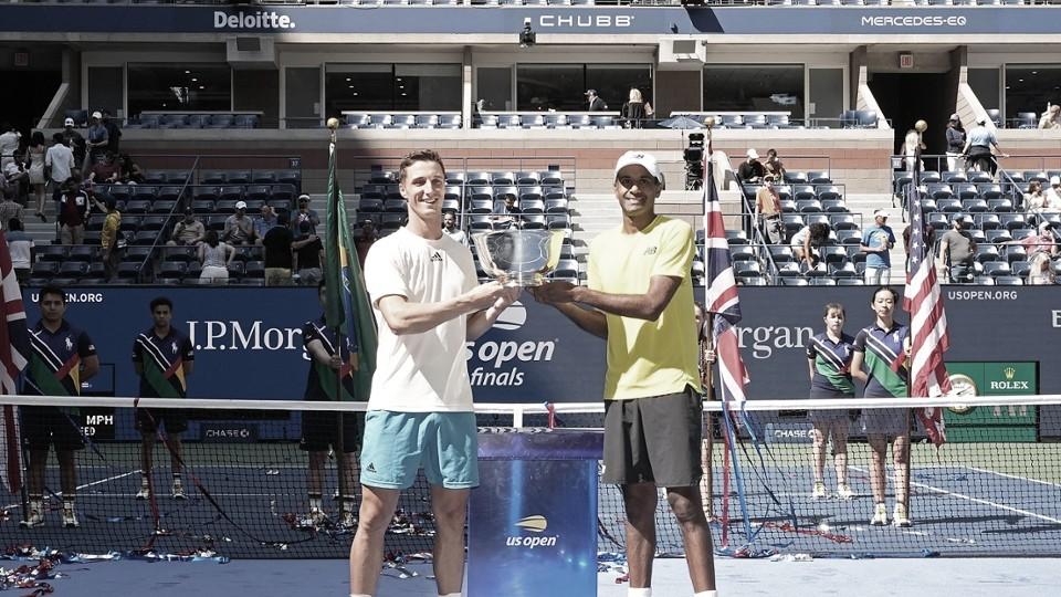 Murray/Soares saem na frente, mas sofrem virada de Ram/Salisbury e ficam com vice no US Open