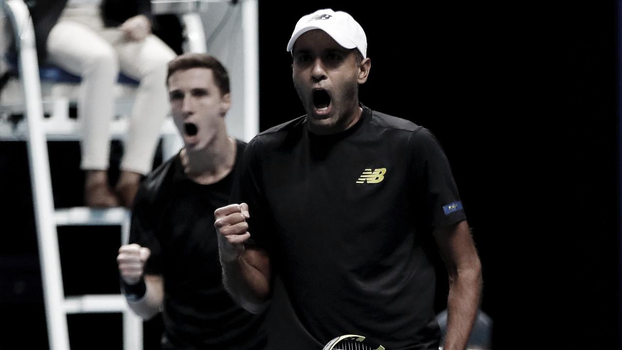 Kubot/Melo estreiam no ATP Finals perdendo para Ram/Salisbury