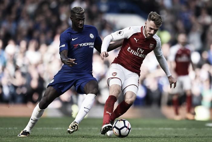 David Luiz é expulso e Chelsea segura empate no clássico contra Arsenal
