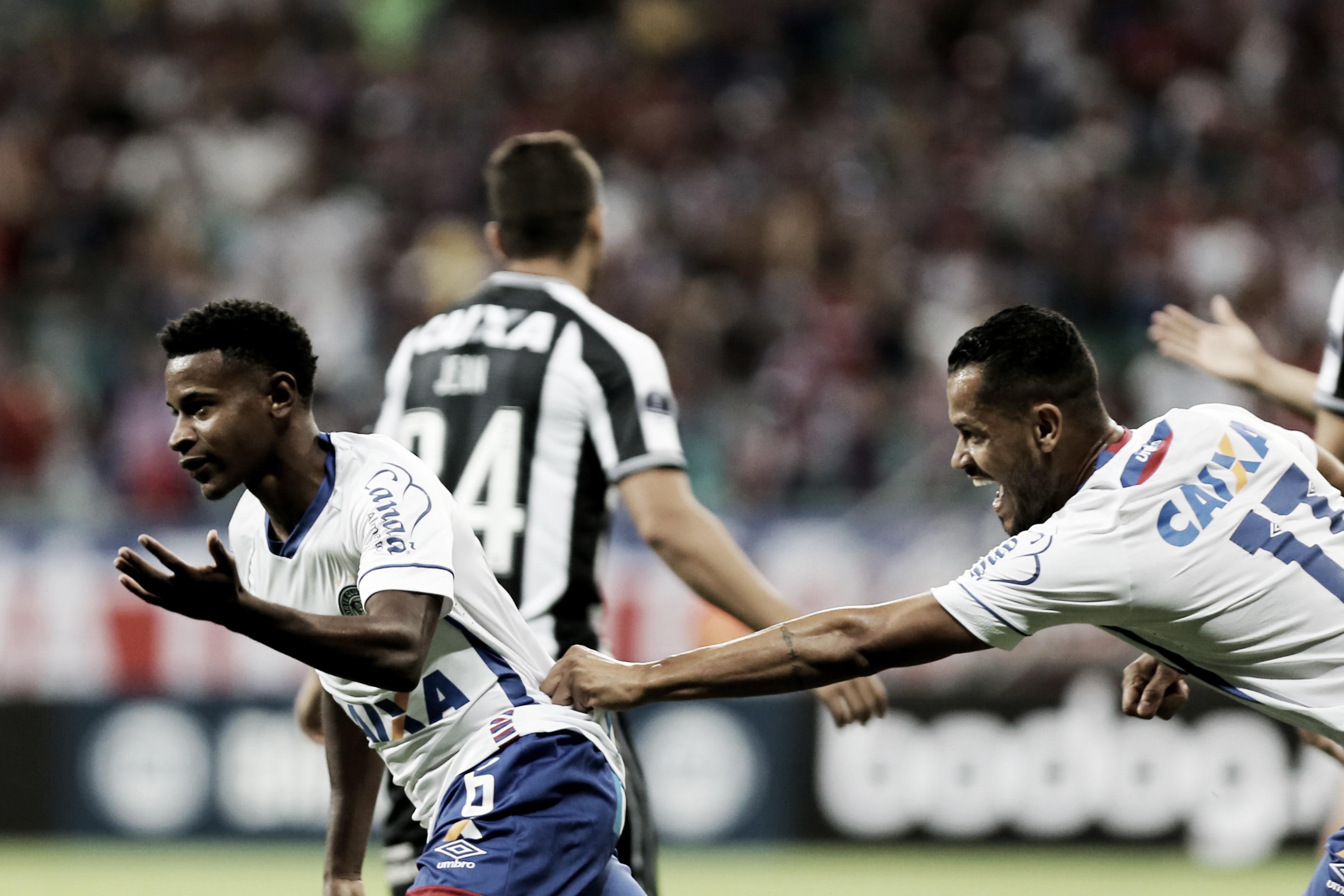 Bahia vence Botafogo em casa e abre vantagem nas oitavas da Sul-Americana