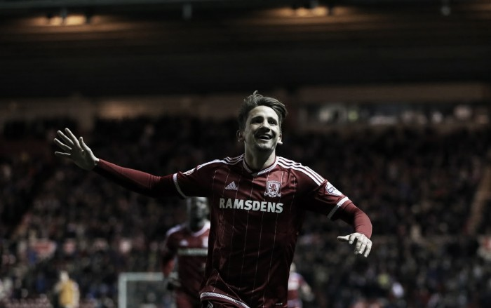 Southampton loan watch: Gaston Ramirez nets brilliant brace for 'Boro