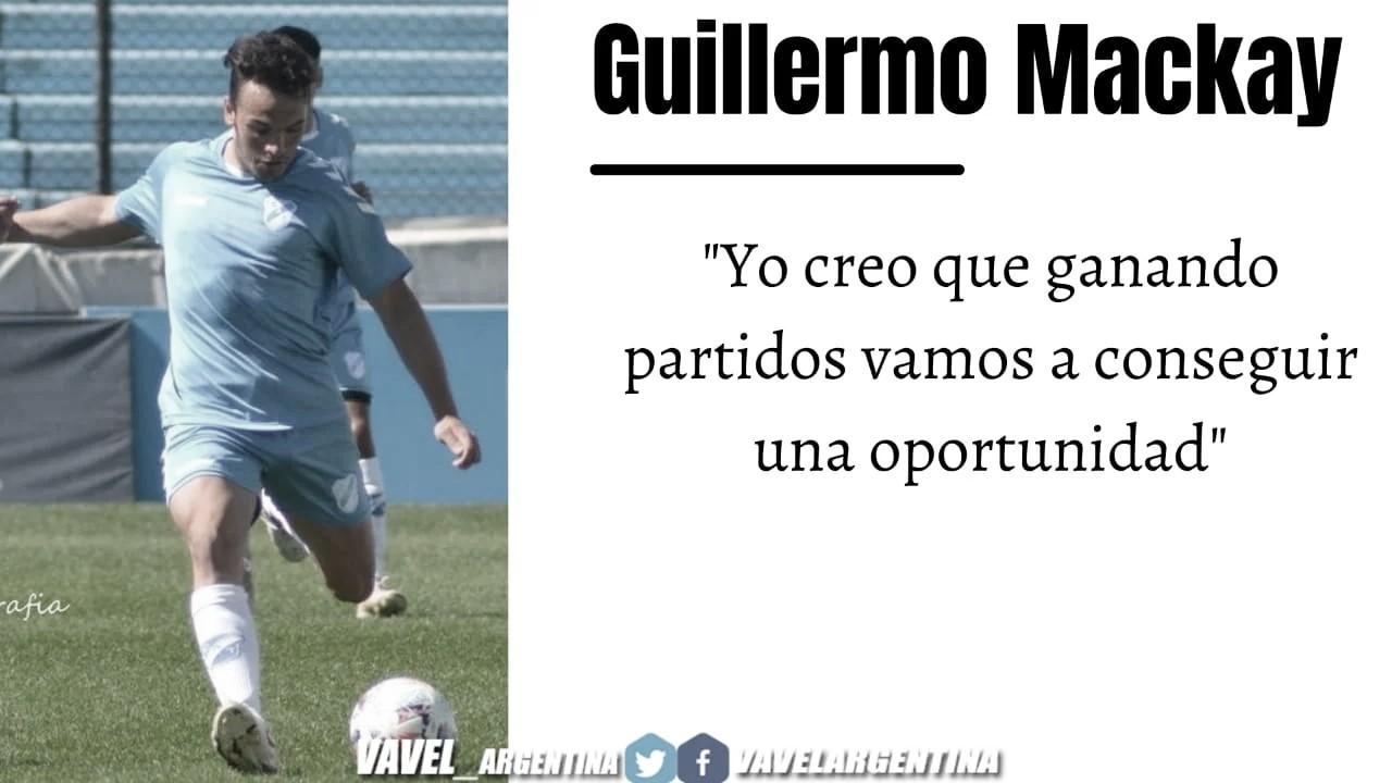 Guillermo Mackay: ''Siempre me caractericé por llegar al área y hacer muchos goles''