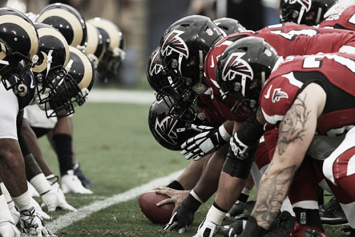 Resultado Atlanta Falcons at Los Angeles Rams pela NFL 2017/18 (26-13)