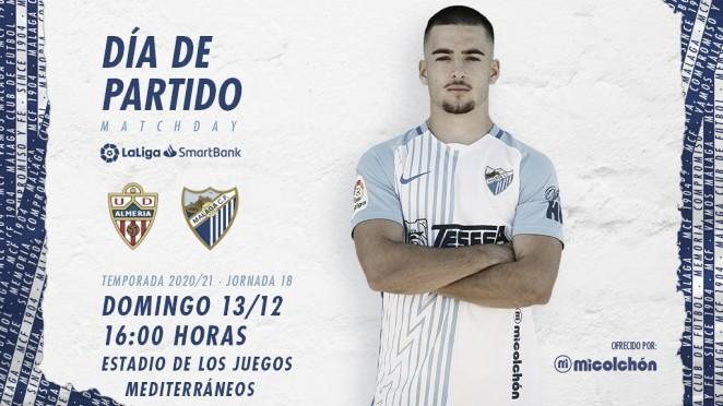 Previa UD Almería - Málaga CF: derbi andaluz de calidad