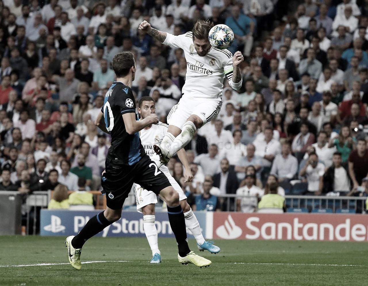Sergio Ramos ya es el quinto defensa más goleador de la Champions