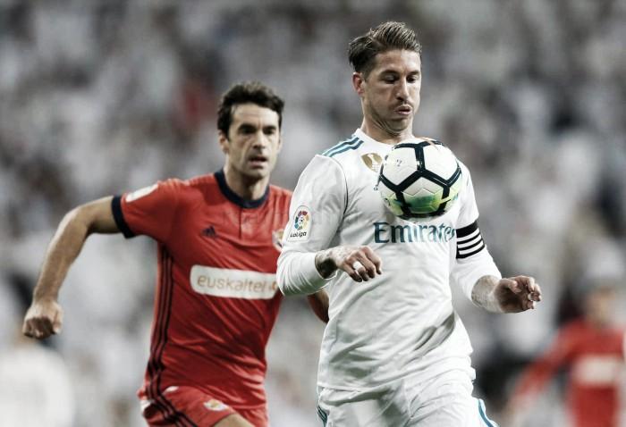 """Sergio Ramos: """"Lo importante era la victoria y coger confianza de cara al miércoles"""""""