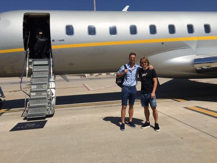 Sergio Ramos y Modric ya viajan rumbo a Estados Unidos