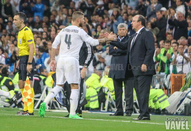 Ramos se perderá al menos el partido ante el Granada