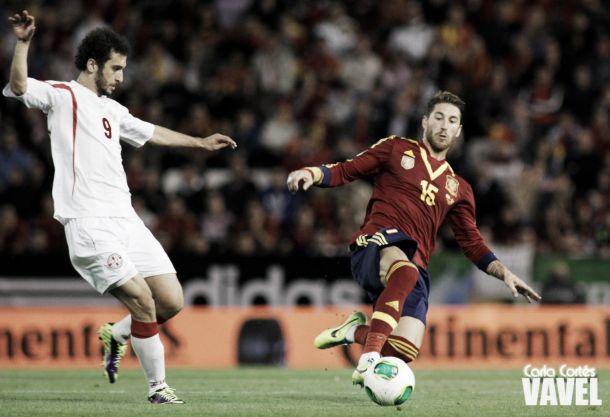 Ramos, Asensio y Ceballos titulares frente a Noruega