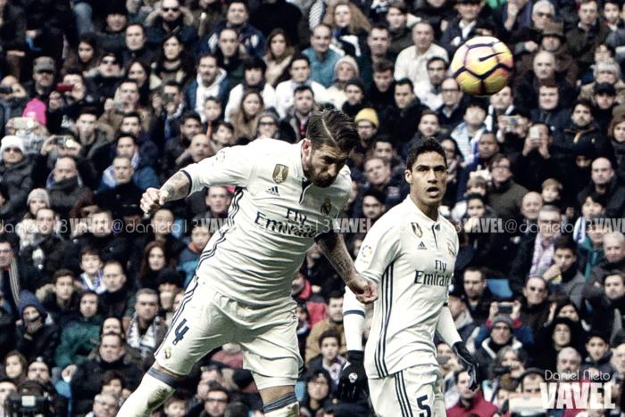 Un Ramos disfrazado de delantero lideró la victoria frente al Málaga