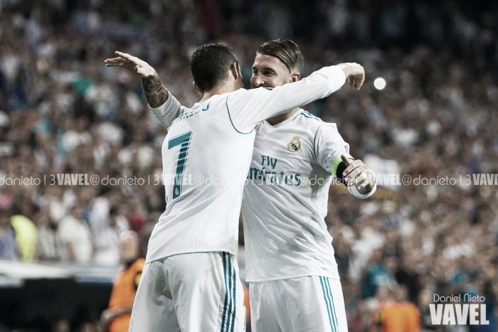 """Ramos: """"Estábamos escasos de goles, pero con Cristiano el equipo lo nota"""""""