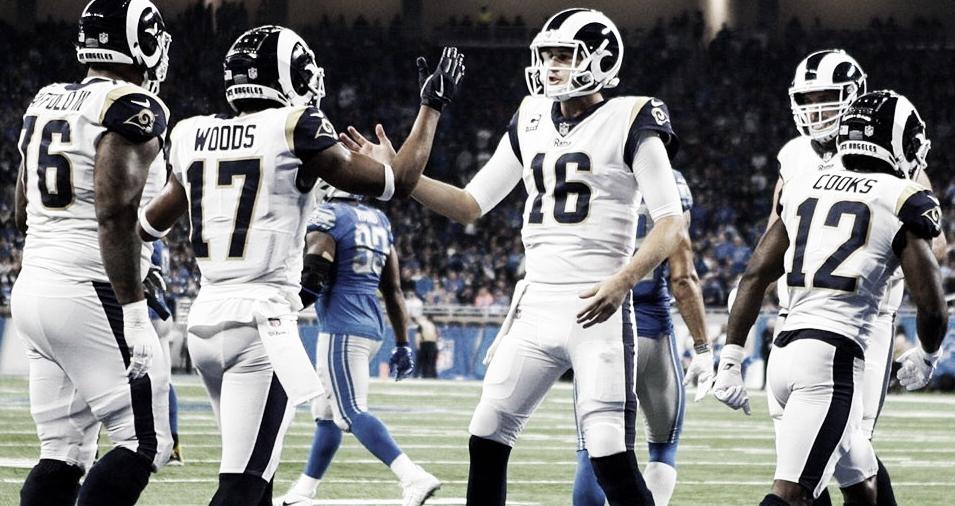 Rams se coronan del Oeste de la NFC al derrotar a Lions