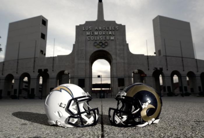 Los Rams y los Chargers construyen su futuro lejos de sus aficionados