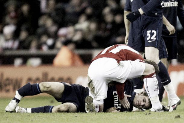 How Aaron Ramsey came back after his injury sustained at Stoke