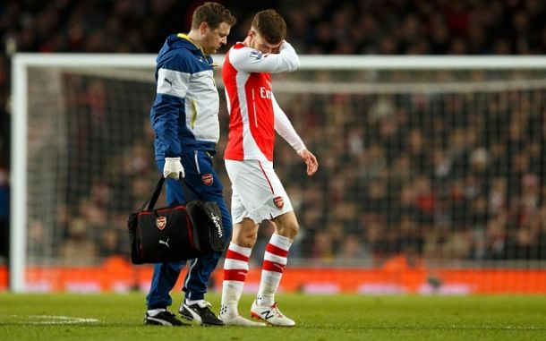 Wenger concerned by latest Ramsey injury