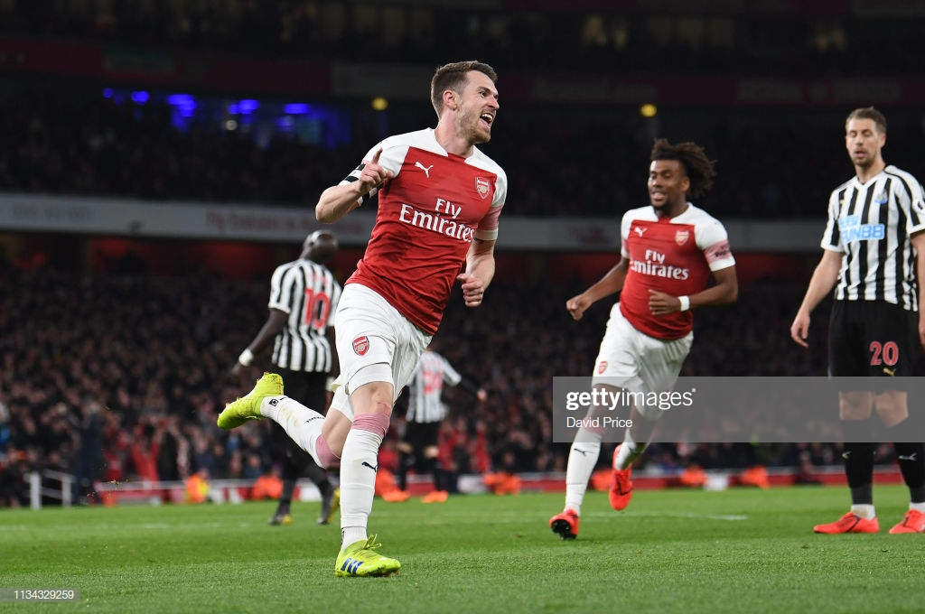 Arsenal 2-0 Newcastle: Gunners cement top-four ambitions