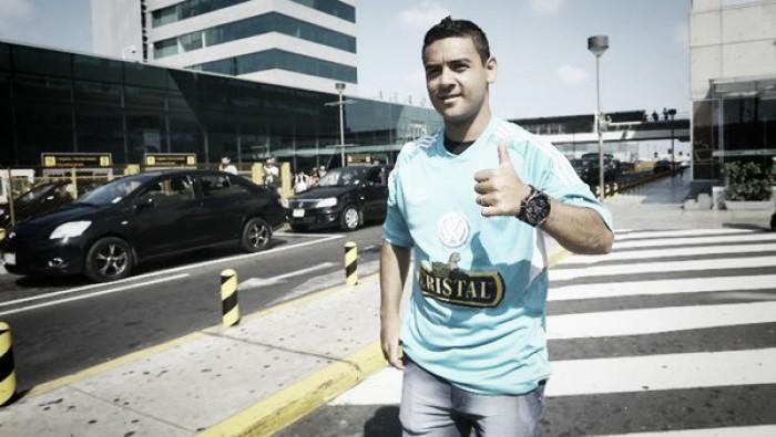 Alfredo Ramúa ya está en Lima para fichar por Sporting Cristal