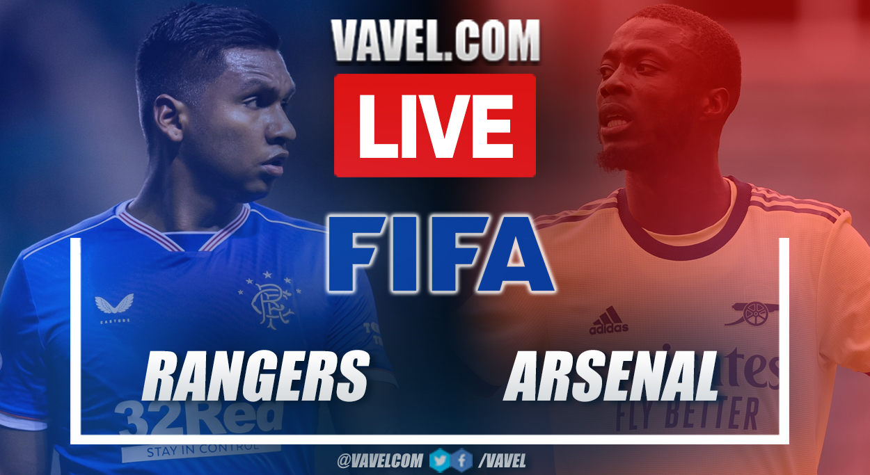 Highlights and goals Rangers 2-2 Arsenal in Friendly Match