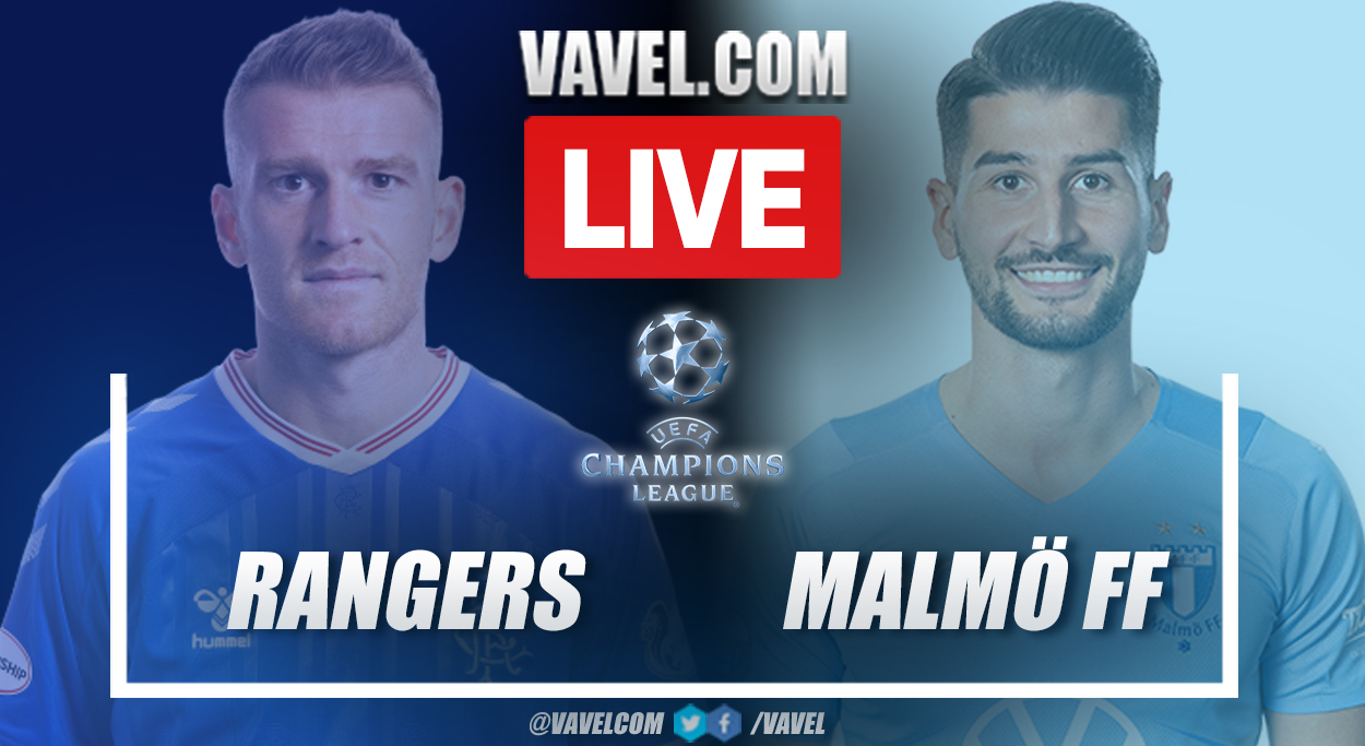 Highlights and goals: Rangers 1-2 Malmö in UEFA Champions League third qualifying round match