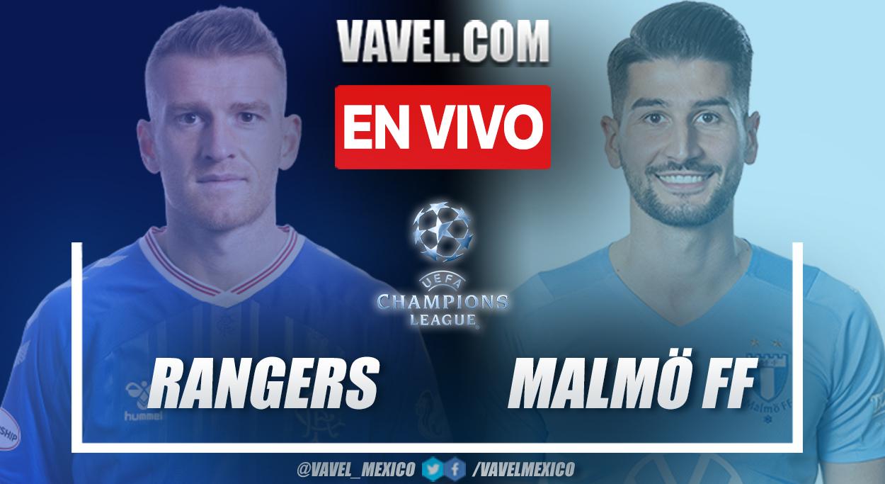Resumen y goles: Rangers 1-2 Malmö en tercera fase previa de UEFA Champions League