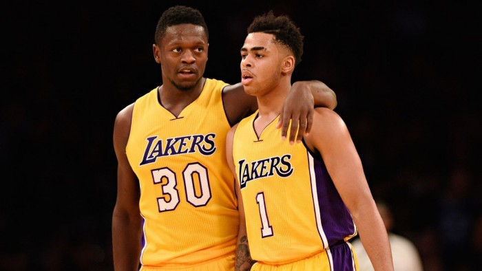 NBA - Russell & Randle fanno grandi i Lakers: battuti i Nets (125-118)