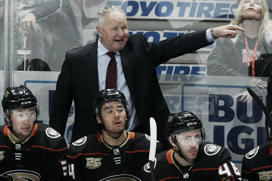 Are the Anaheim Ducks under water?