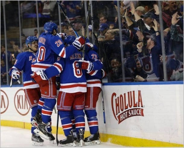 New York Rangers Take Down the Toronto Maple Leafs Behind Mats Zuccarello's Big Day