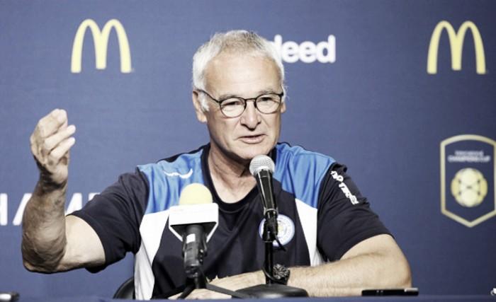 Ranieri comemora participação do Leicester na Champions Cup e aprova experiência