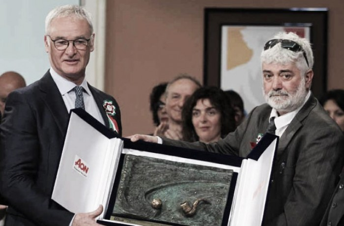"""Premio Bearzot, vince Ranieri. Tavecchio: """"Spero possa vincere un Mondiale con l'Italia"""""""