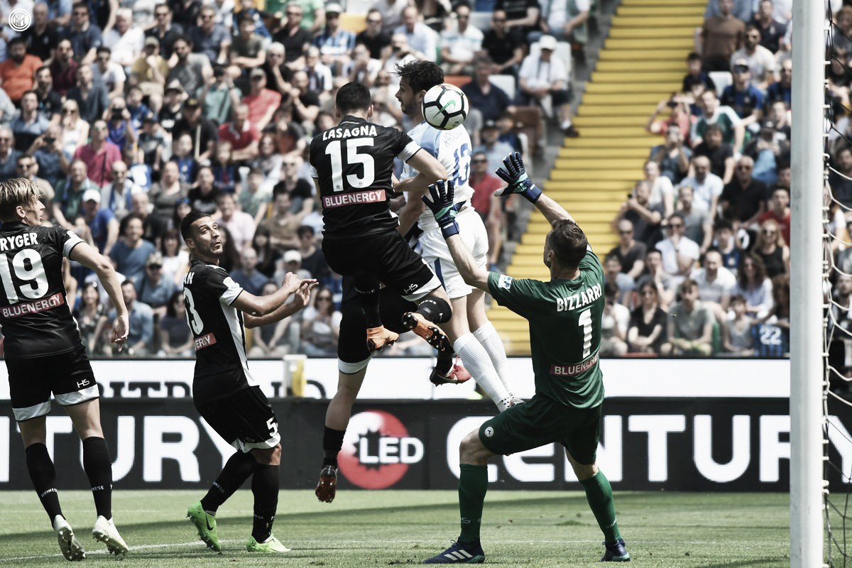 Serie A: l'Inter affonda l'Udinese, è 0-4 alla Dacia Arena
