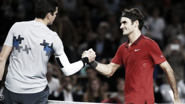 ATP Parigi Bercy: Raonic è grande, Federer al tappeto. Djokovic surclassa Murray