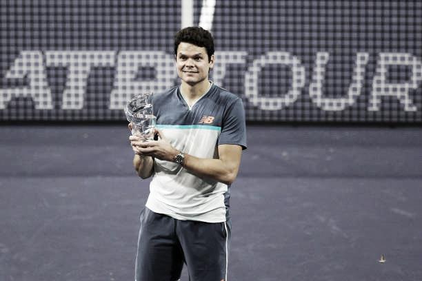 Milos Raonic, primer campeón de la Eisenhower Cup