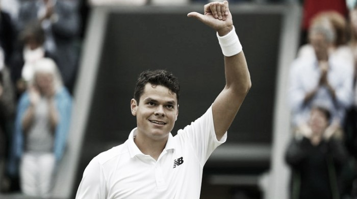 Wimbledon 2016: Raonic fights back to beat Goffin in five sets