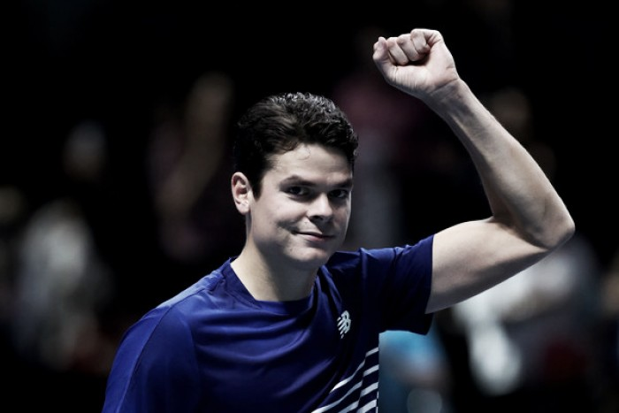 ATP World Tour Finals: Milos Raonic dominates Gael Monfils for first win