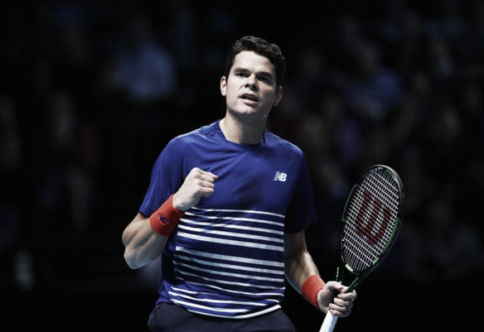 ATP World Tour Finals: Milos Raonic clinches semifinal berth