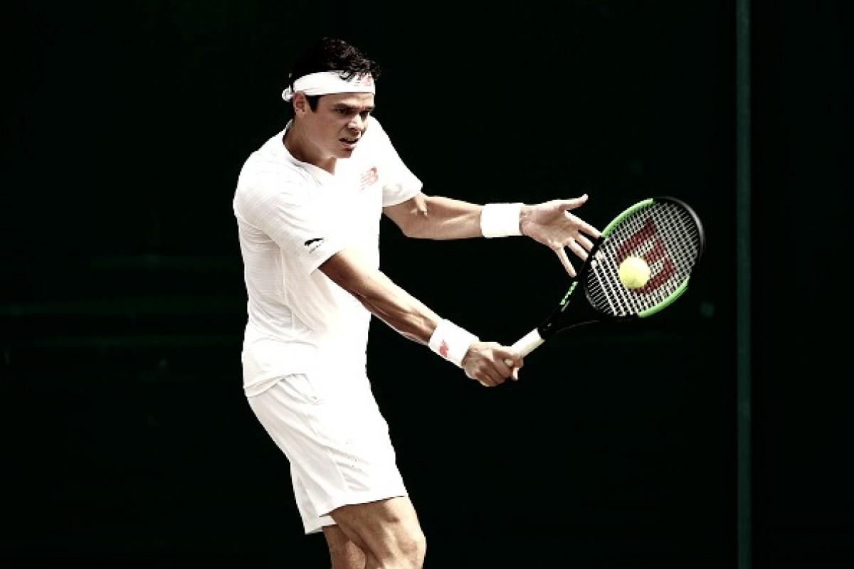 Tá no papo! Raonic vence McDonald para chegar às quartas de final de Wimbledon
