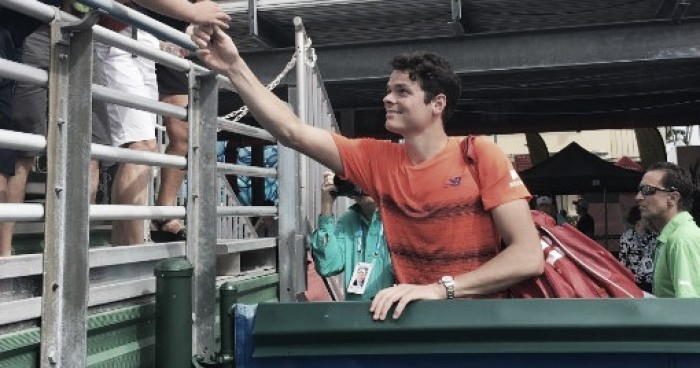 ATP Delray Beach: Milos Raonic powers through opener